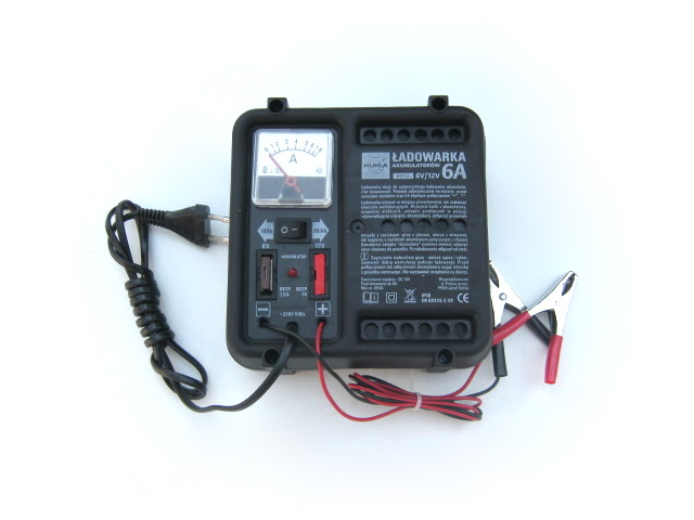 Battery charger 6V & 12V (EU)