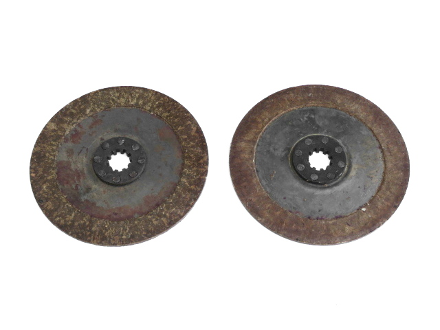 Clutch friction plates (NOS)