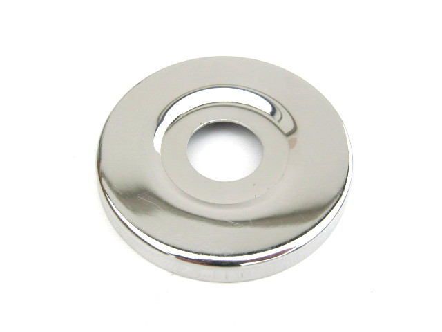 Wheel hub dust cap, stainless, polished (EU)