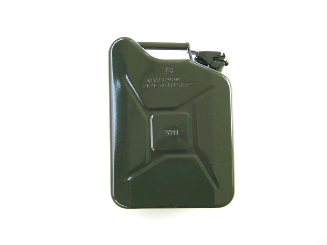 Petrol jerry can 10L, green (EU)