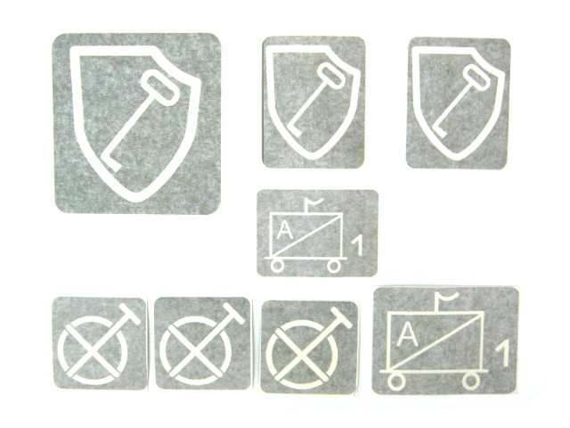 Insignia stencils, 1 Panzer-Division SS