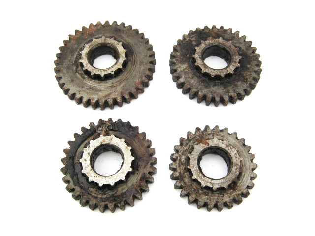 Gear set Dnepr MT804, output shaft, 4 pcs (NOS)