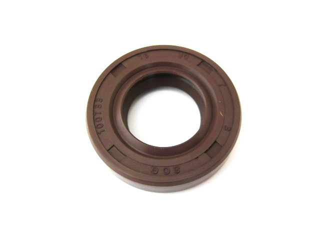 Oil seal ring 16x30x7, double lip, Viton (HQ)