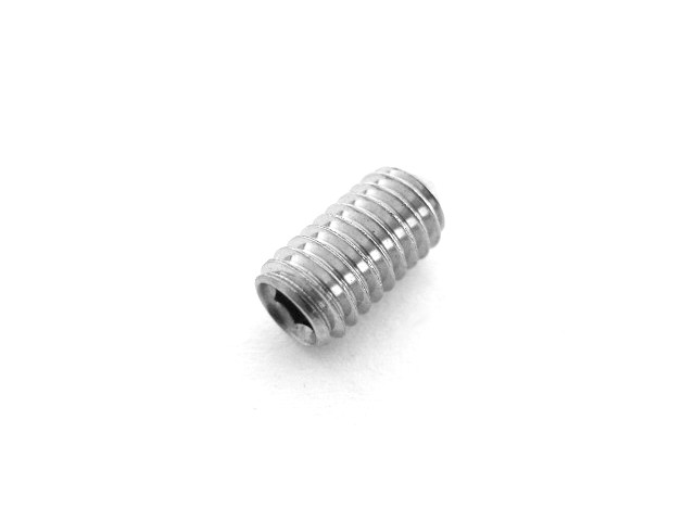 Set screw M6x12, cone, hex socket, stainless (EU)