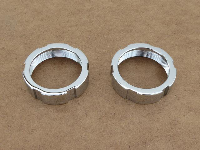 Exhaust nuts DKW, Izh-350 & Izh-49, chrome-plated (HQ)