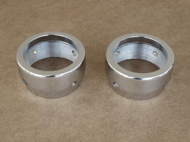 Silencer nuts Izh-56, for demountable silencers, chrome-plated (HQ)