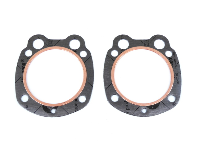 Cylinder head gaskets Ural 650, w/copper rings (HQ)