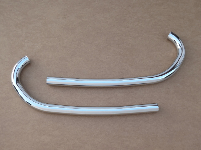 Exhaust pipes Izh-49, chrome-plated (HQ)