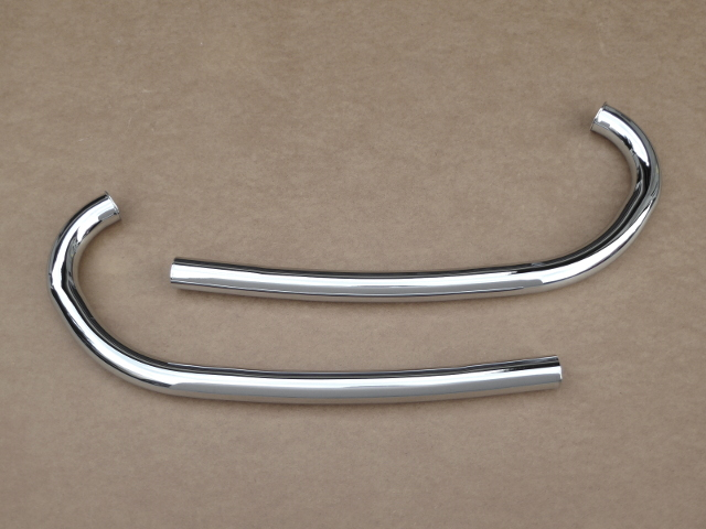 Exhaust pipes Izh-350, chrome-plated (HQ)