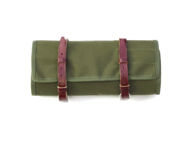 Toolbag w/straps, green canvas (EU)
